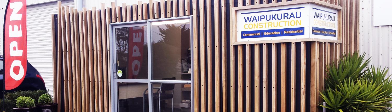 Waipukurau Construction Office